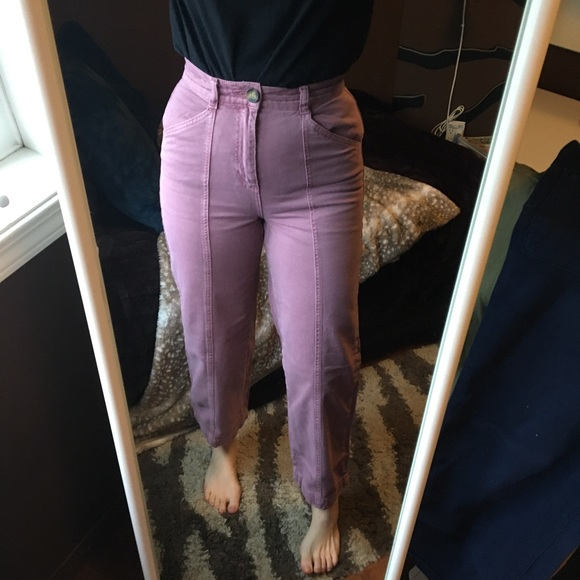 BDG Blush Cropped Carpenter Trouser Jeans Pants